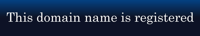 This domain name is registered for one of our customers.